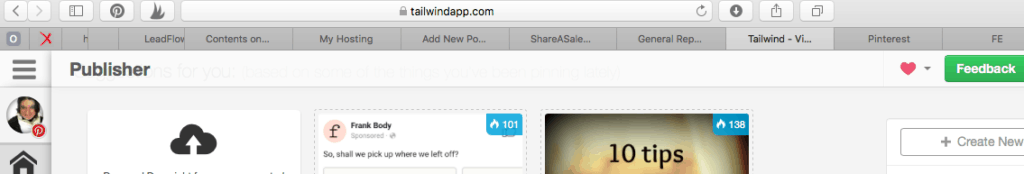 how tailwind works, safari extension