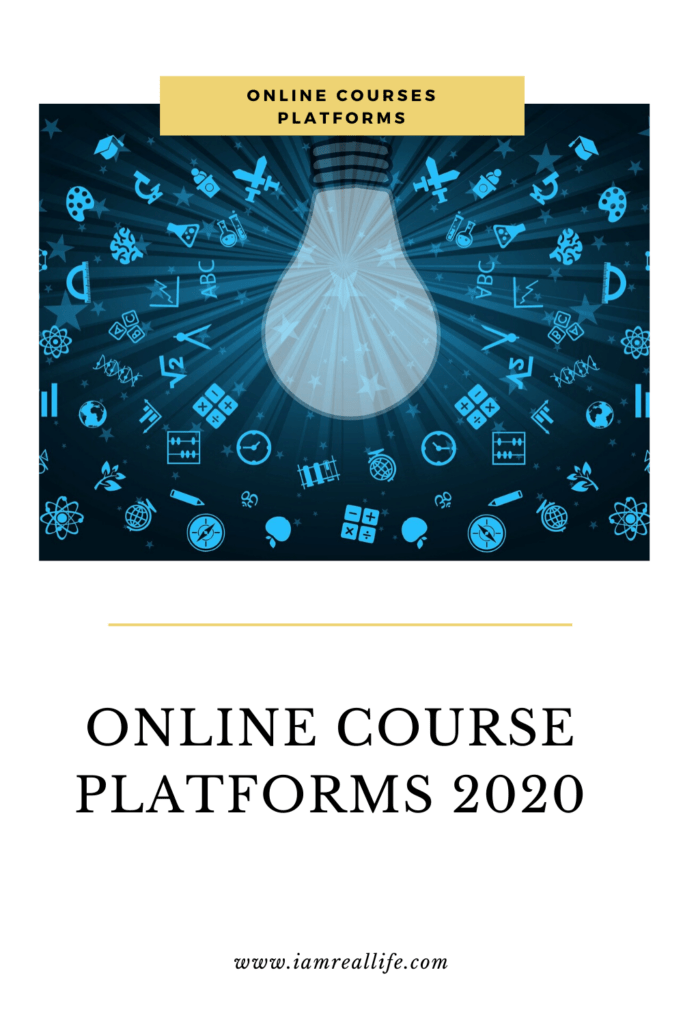 Online course platforms 2020 - pin