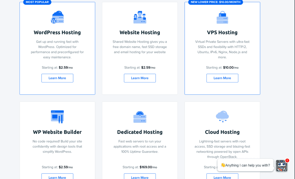 dream host services