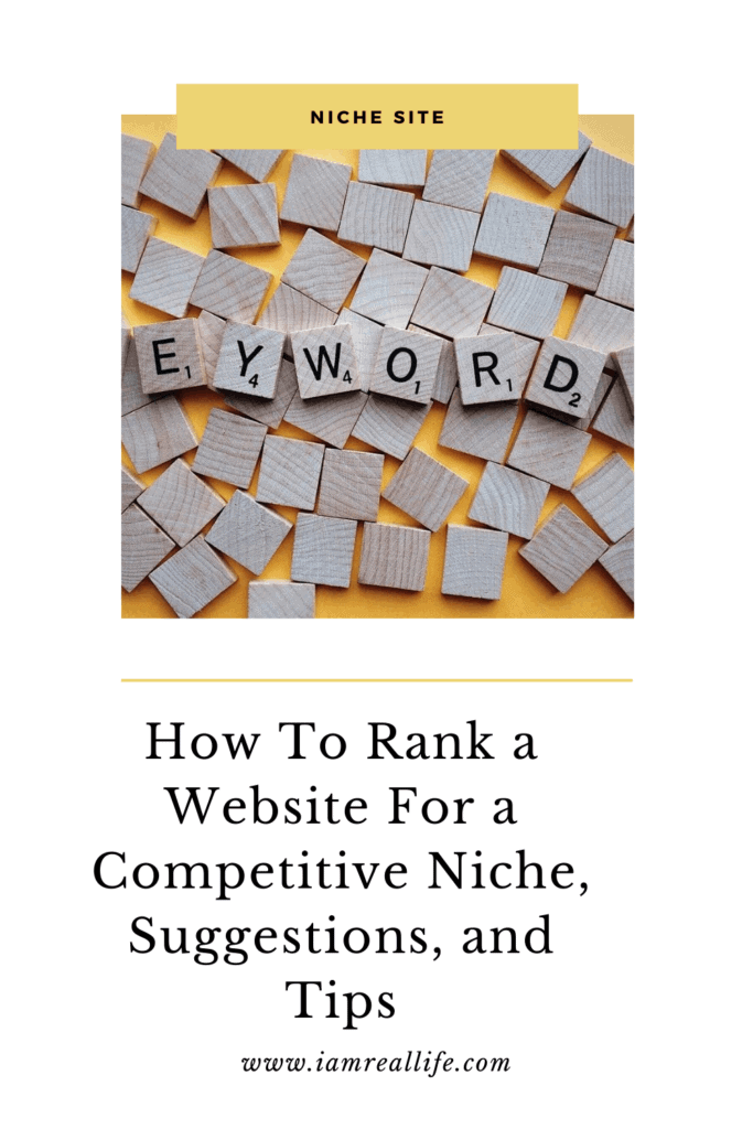 How to Rank a Website for a Competitive Niche