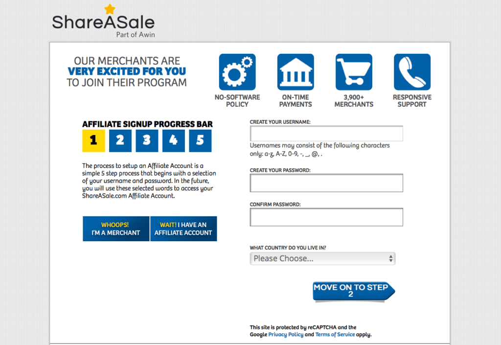How To Get Approved For ShareASale - shareasale application