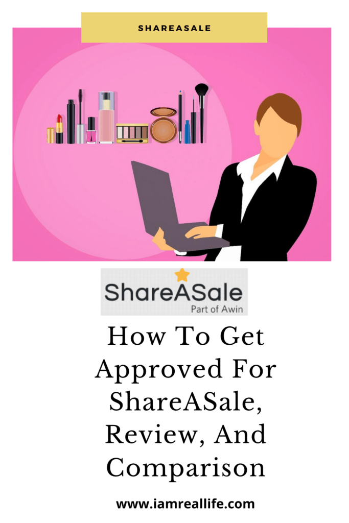 How To Get Approved For ShareASale - Pinterest Pin
