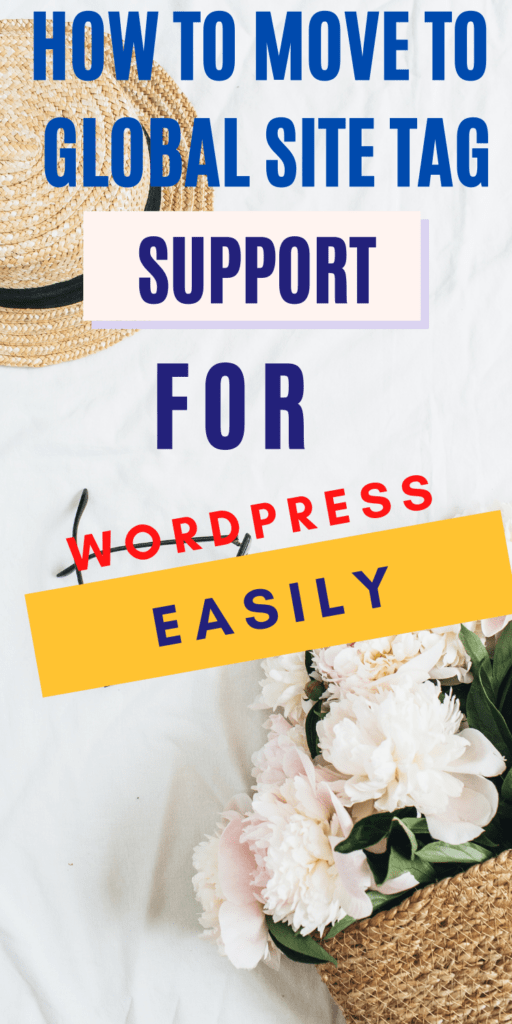 Global Site Tag Support for WordPress
